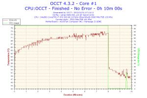 CPU core 1 temp
