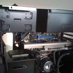 GPU card inside